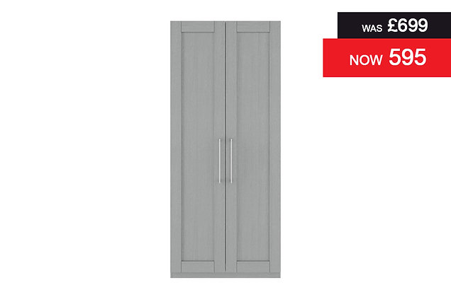 Alpha 2 Door Wardrobe