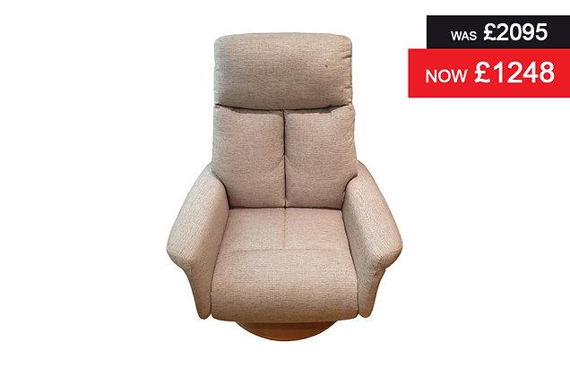 Cambridge Grande Power Recliner Chair - Sonata Cappuccino