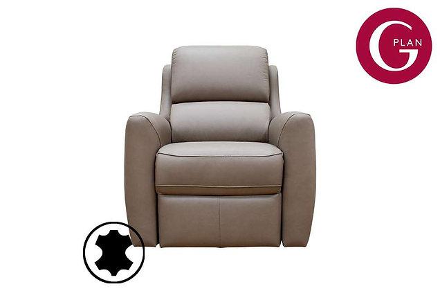 G Plan Hamilton Leather Armchair