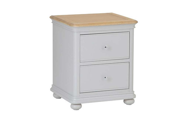 Manchester 2 Drawer Bedside