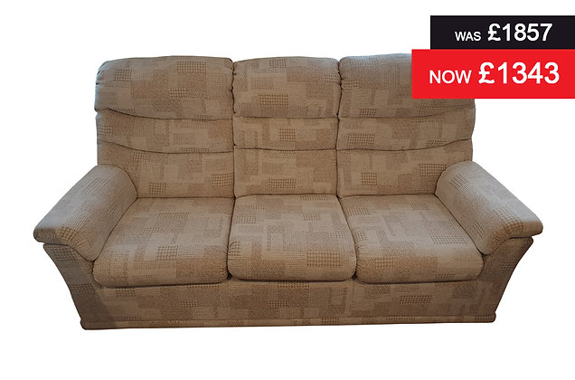 G Plan Malvern 3 Seater Sofa - Lydia Blush