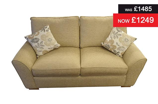 Lyndhurst 2 Seater Sofa bed with sprung interior mattress