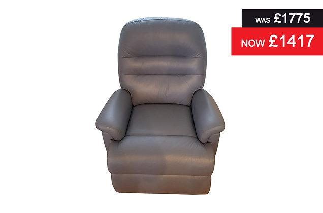 Sherborne Keswick Power Recliner Chair - Wedgewood Hide