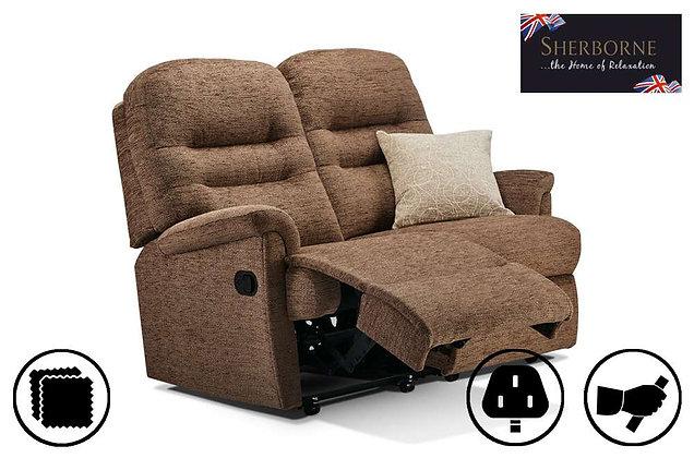 Sherborne Keswick Small 2 Seater Recliner Sofa