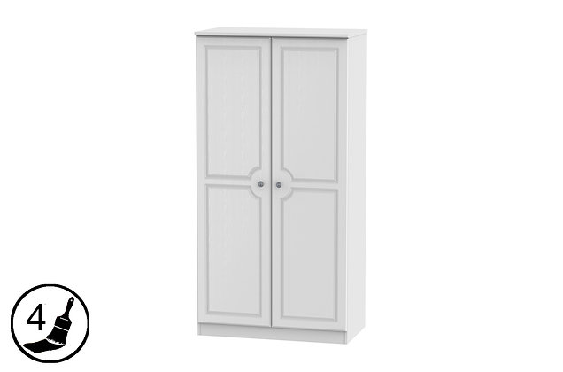 Clifton 3ft Double Wardrobe