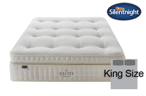Silentnight Mirapocket Imperial Geltex 3000 Soft / Medium King Size Mattress