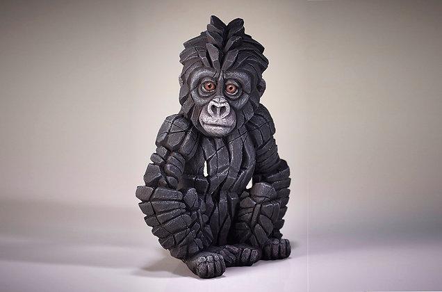 Edge Sculpture Baby Gorilla Figure