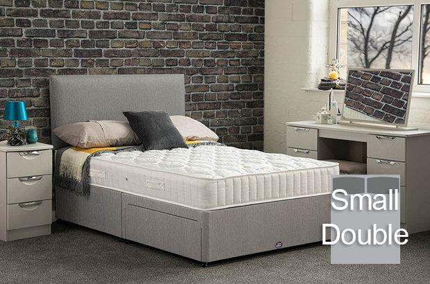 Brunel Small Double Divan Bed