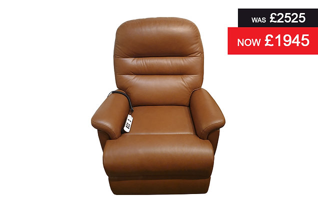 Sherborne Keswick Standard Dual Motor Lift & Rise Recliner Chair - Leather