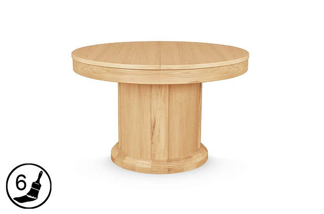 Florence Round Extending Dining Table