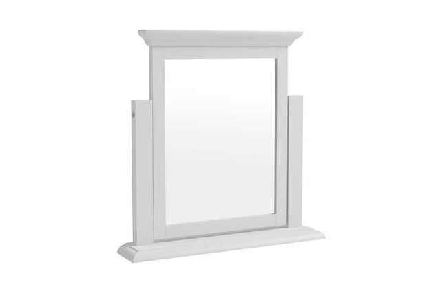 Polar White Dressing Table Mirror