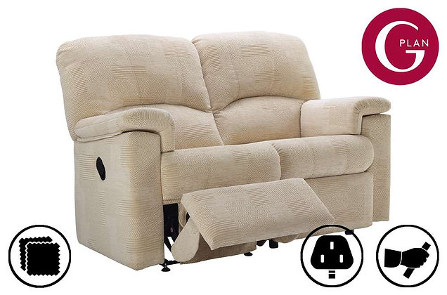 G Plan Chloe 2 Seater Left Hand Facing Single Recliner Sofa