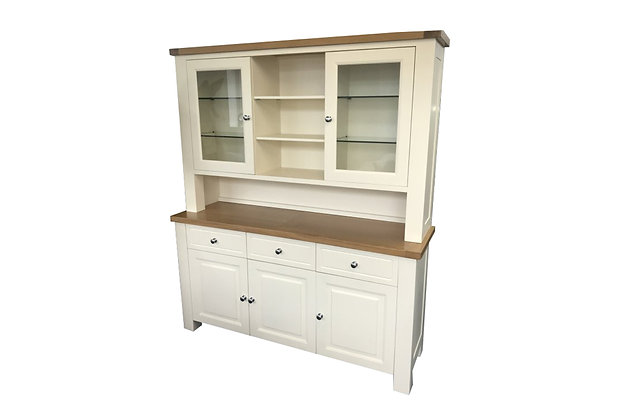 Bretagne Large Dresser – Ivory with Lacquered Top
