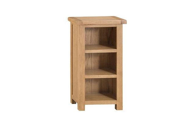 Classic Oak Narrow Bookcase