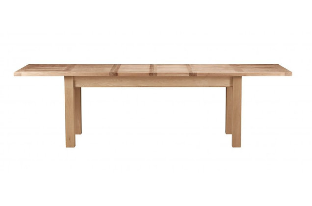 Bretagne 200cm Extending Dining Table – Natural