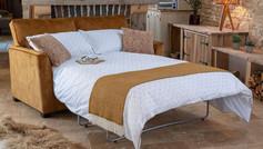 Alstons Reuben 3 Seater Fabric Sofa Bed