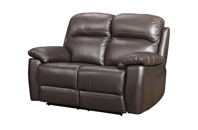 Aston Leather 2 Seater Sofa