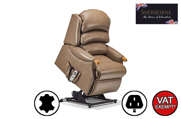 Sherborne Malham Leather Royale Lift & Rise Care Recliner Chair