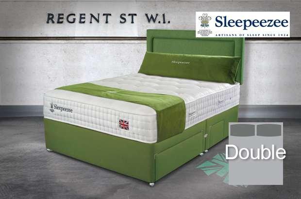 Sleepeezee Perfectly British Regent 2600 Double Divan Bed