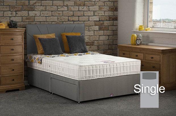 Elsa Single Divan Bed