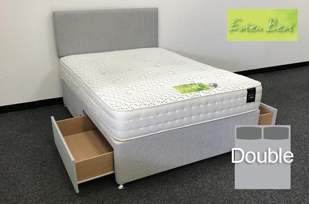 Eden Beds Tencel Pocket 1000 Double 2 Drawer Divan