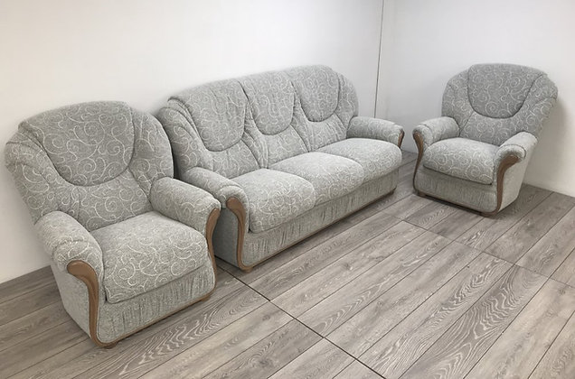 Piza Upholstery Group - 3 Seater & 2 Armchairs