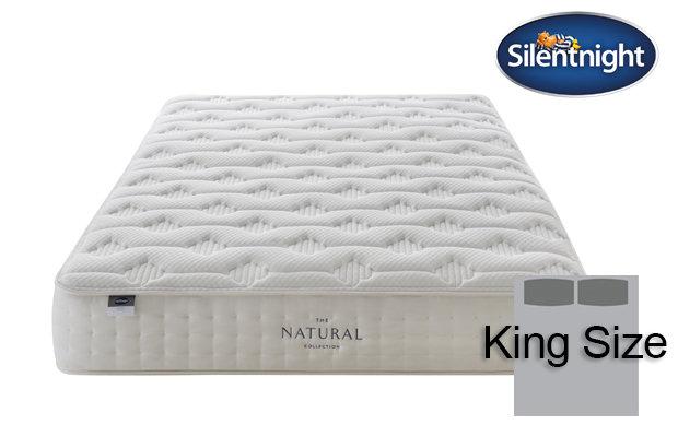 Silentnight Mirapocket Luxuriant Natural 1400 King Size Mattress