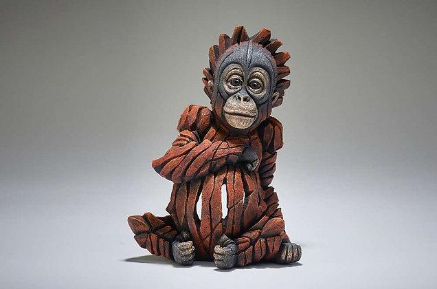 Edge Sculpture Baby Orangutan Figure