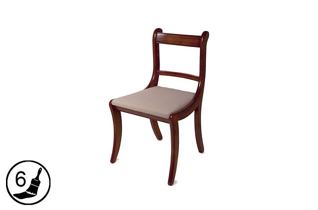 Simply Classical Scroll Dining & Carver Chairs