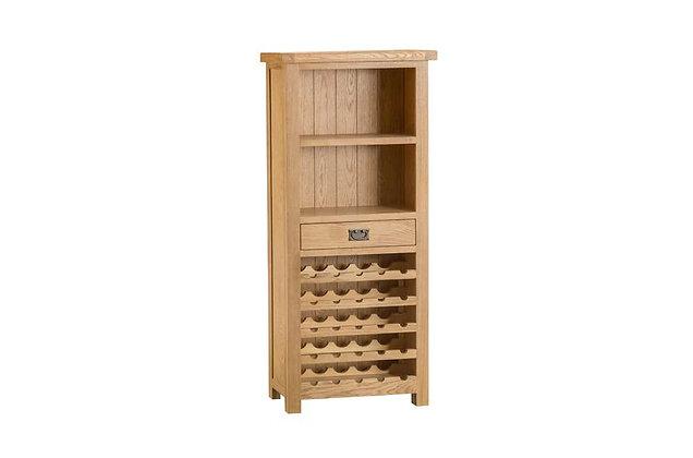 Classic Oak Wine Cabinet