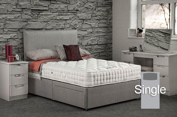 Pinnacle Ortho Single Divan Bed