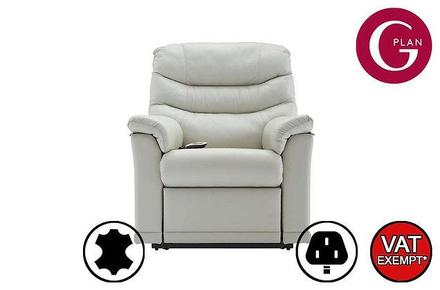 G Plan Malvern Leather Small Lift & Tilt Recliner Chair