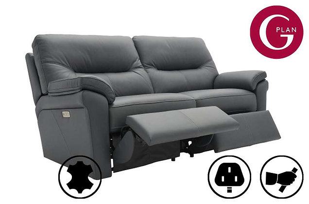 G Plan Seattle Leather 2.5 Seater Recliner Sofa
