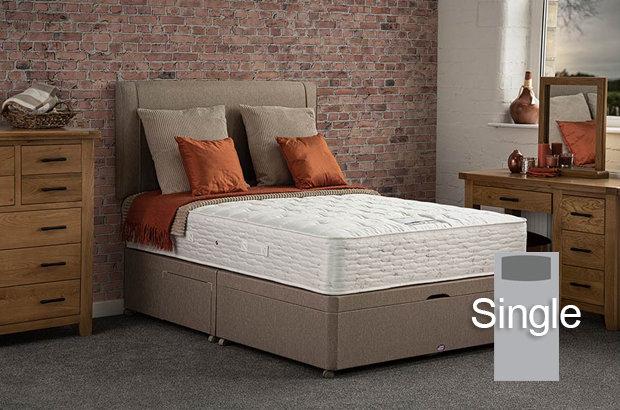 Boston Ortho Single Divan Bed