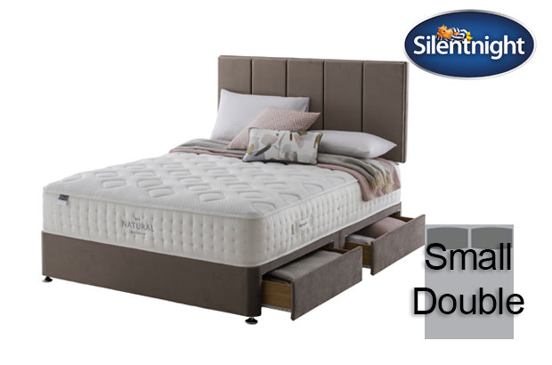 Silentnight Mirapocket Allegro Natural 1400 Small Double Divan Bed