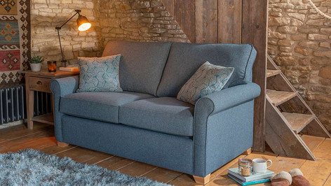Alstons Poppy 2 Seater Fabric Sofa