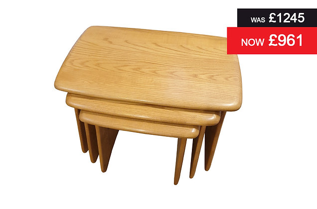 Ercol 1159 Windsor Nest of 3 Tables