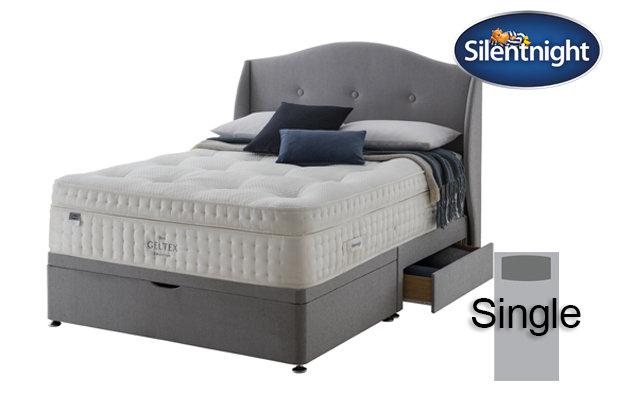 Silentnight Mirapocket Imperial Geltex 3000 Soft / Medium Single Divan Bed