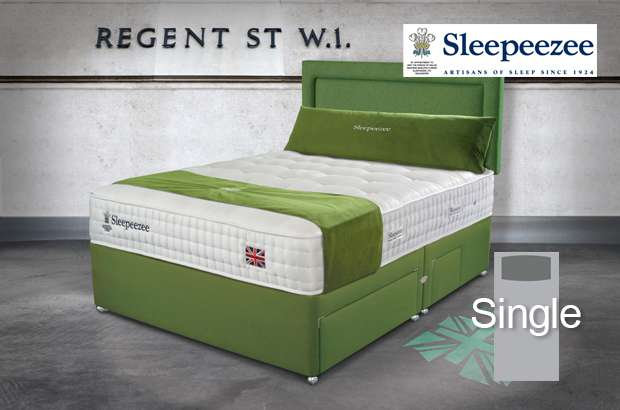 Sleepeezee Perfectly British Regent 2600 Single Divan Bed