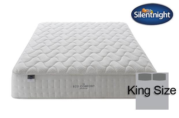 Silentnight Mirapocket Ivory Eco Comfort 1400 King Size Mattress