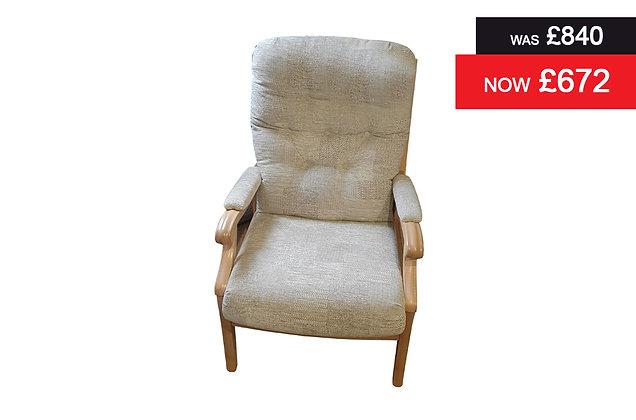 Cintique Winchester Armchair - D1013 / Oak