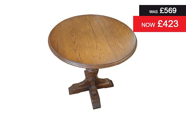 Old Charm 2428 Wine Table - Oak