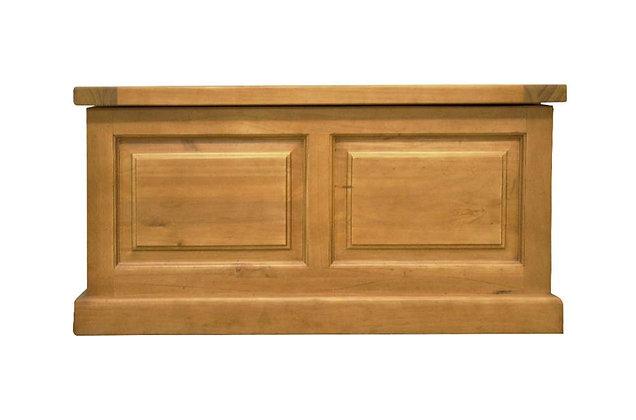 Budget Pine Blanket Box
