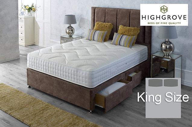 Highgrove Ambassador 1000 King Size Divan Bed