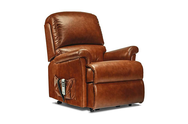 Wexford Leather Small Lift & Rise Care Recliner Chair