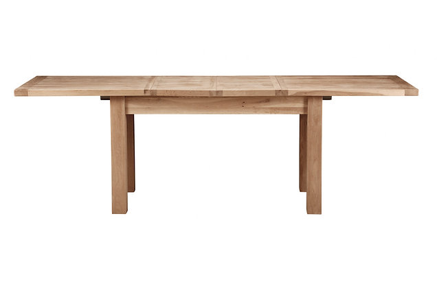 Bretagne 160cm Extending Dining Table – Natural