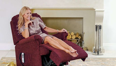 Sherborne Milburn Standard Fabric Lift and Rise Recliner Chair