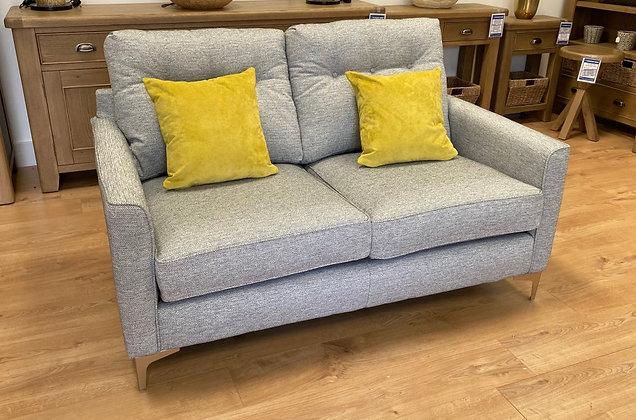 Brooke 2 Seater Sofa - Silver
