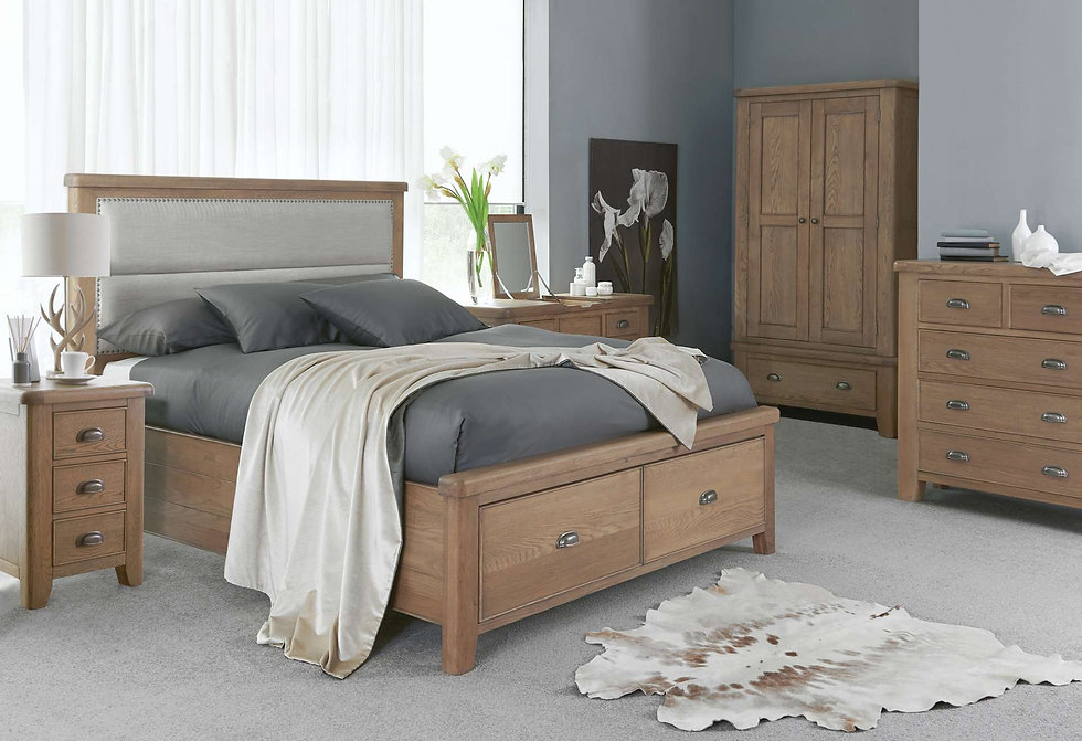 Toulouse Bedroom Furniture - Wardrobes, Chest of Drawers, Bedside Cabinets, Dressing Tables, Stool and Mirrors