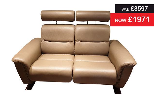 Stressless Panorama 2 Seater Adapt Sofa - Batick Mole
